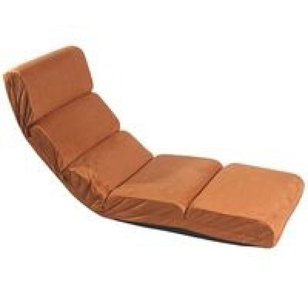 Кресло-шезлонг регулируемое коричневое LF14-BRin MERLIN