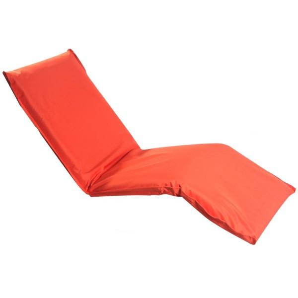 Кресло шезлонг оранжевое LF08-PE MERLIN