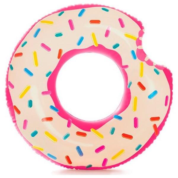 Надувная камера Пончик с клубничной глазурью, 56265 Intex