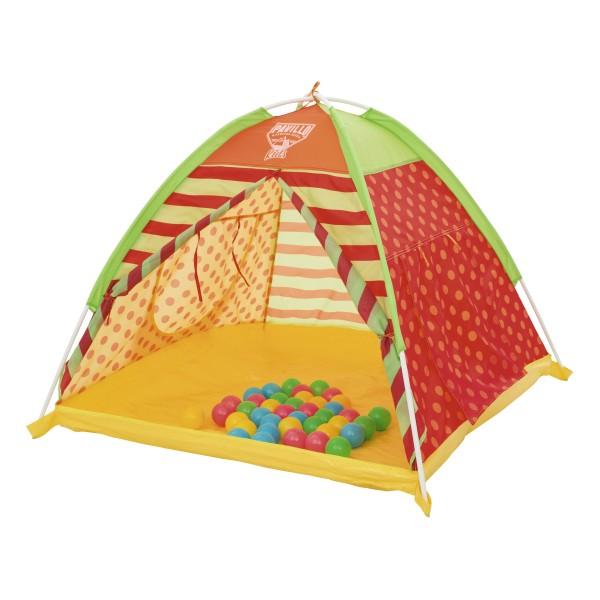 Палатка детская для игр с 40 шариками бв68080 Bestway