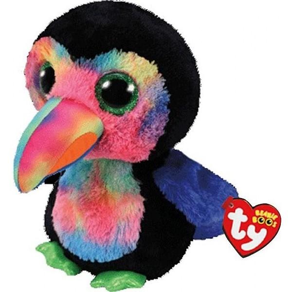 Мягкая игрушка Бикс птица тукан Beanie Boo's, 36870 Ty Inc