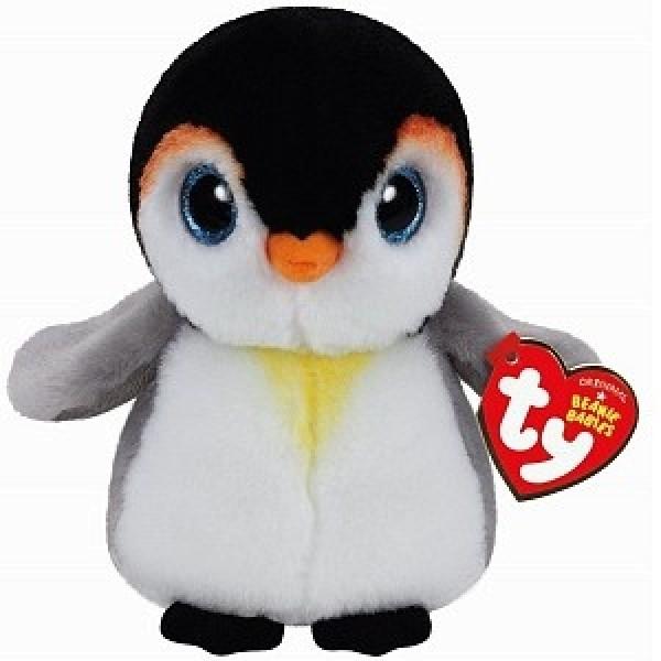 Мягкая игрушка Beanie Babies Пингвин  Pongo 15 см 42121 TY