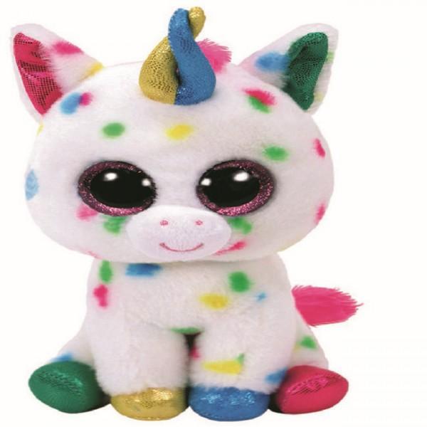Мягкая игрушка Beanie Boo's Eдинорог Harmonie пятнистый 15 см 36898 TY