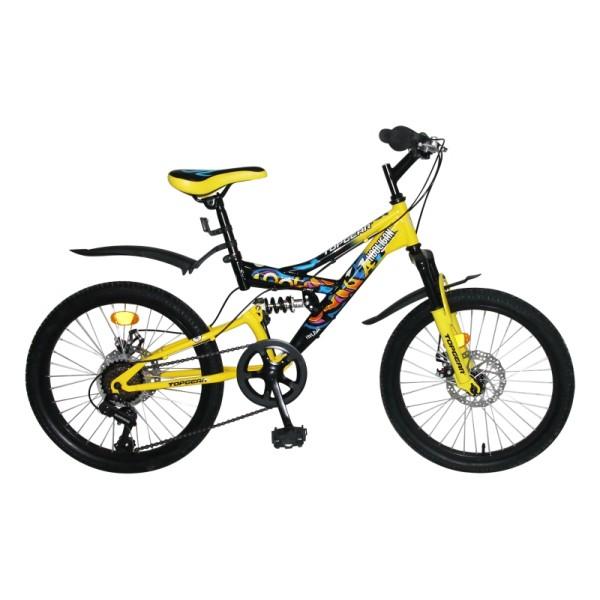 Двухподвесный велосипед Hooligan колеса 20 ВН20209 Topgear