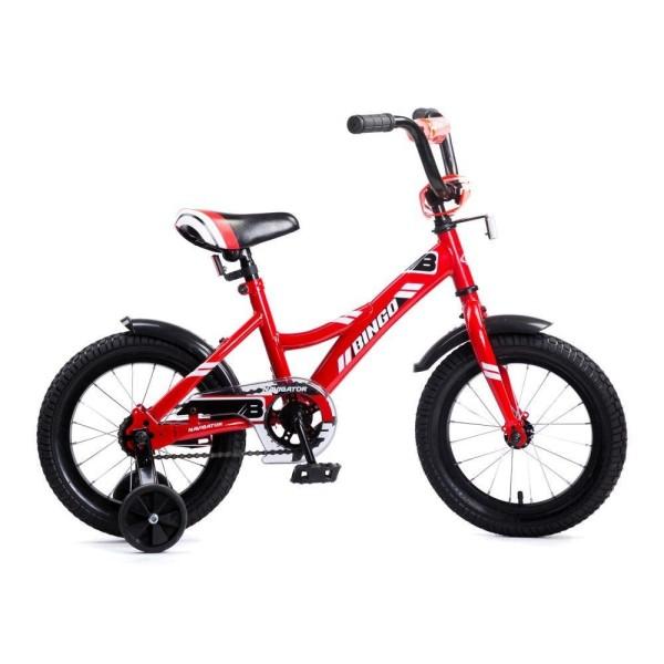 Детский велосипед BINGO, колеса 14, ВМ14177 Navigator