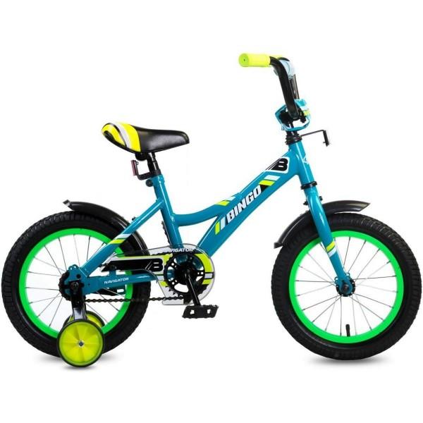Детский велосипед  BINGO, колеса 14, ВМ14191 Navigator