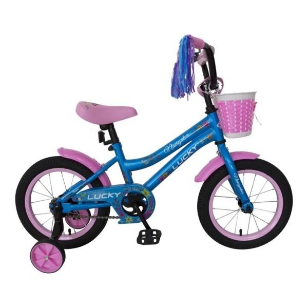 Детский велосипед LUCKY, колеса 14, ВН14175 Navigator