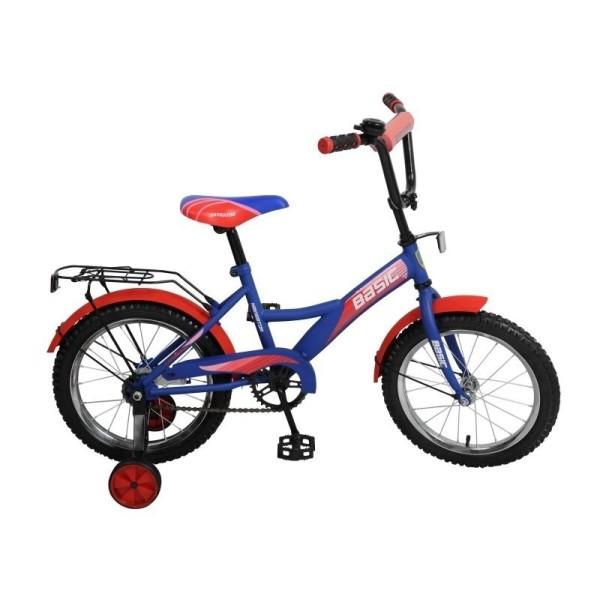 Велосипед  Basic 16, синий-красный,  ВН16104Н Navigator