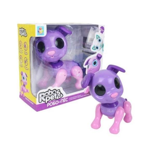 Интерактивная игрушка Робо-пёс фиолетовый  Т14337 1Toy