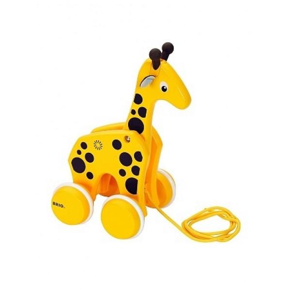 Каталка-жираф на верёвочке 30200 Brio