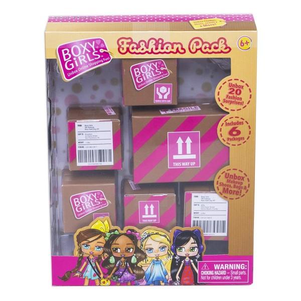 Набор из 6 посылок с сюрпризом для кукол Boxy Girls Т15111 1Toy