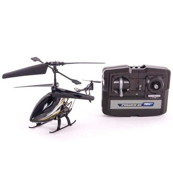 Радиоуправляемый вертолет Sky Dragon с гироскопом черный 84512-4 Silverlit