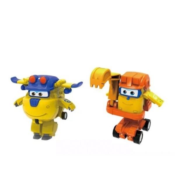 Мини-трансформеры 2 в 1 Донни и Скуп (команда Строителей) EU730002C Auldey Toys