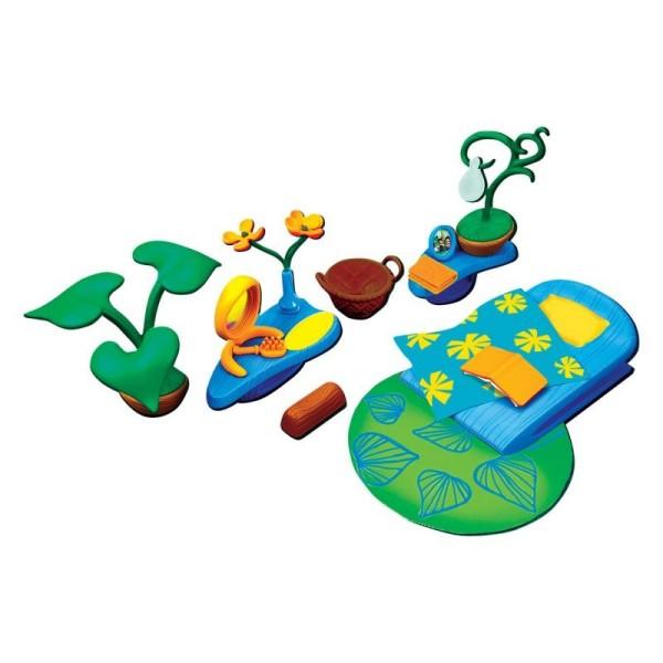 Набор аксессуаров для спальной комнаты (с зеленым ковром), 81528Monchhichi