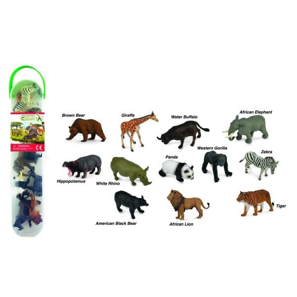 Набор миниатюр - дикие животные №1, A1105 Collecta Gulliver