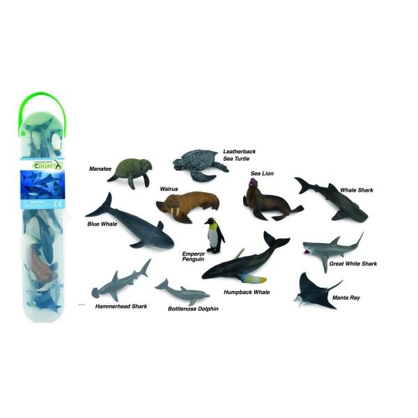 Набор миниатюр - морские животные №1, A1107 Silverlit