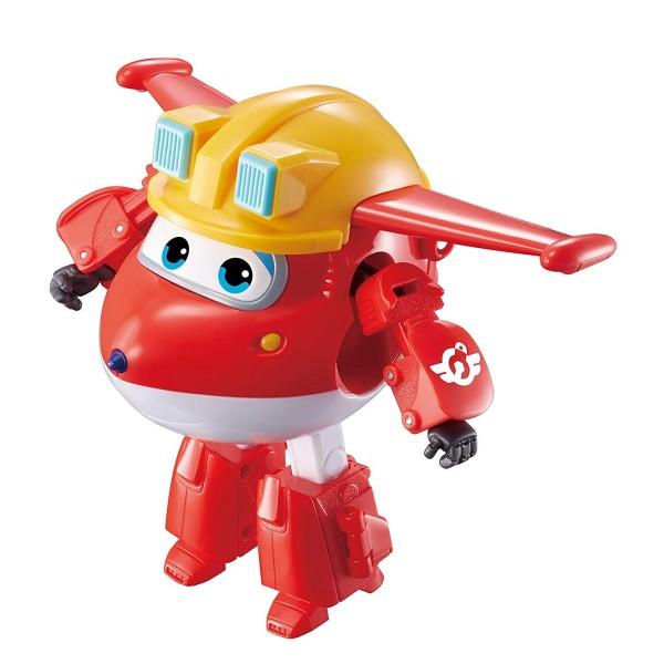 Трансформер Super Wings Джетт команда Строителей EU730211 Auldey Toys