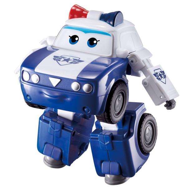 Мини-трансформер Super Wings – Ким, команда Полиции EU730233 Auldey Toys