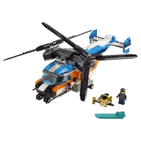Конструктор Creator 2роторный вертолёт 31096 LEGO