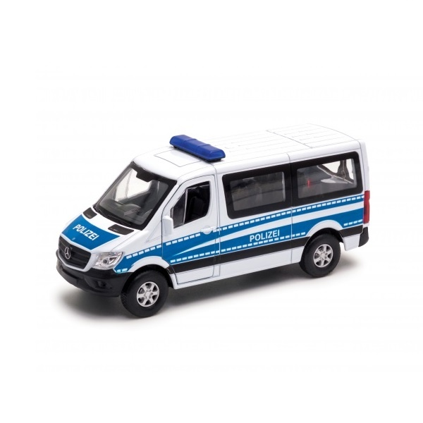 Модель машины Mercedes-Benz Sprinter Полиция  1:50 43731P Welly