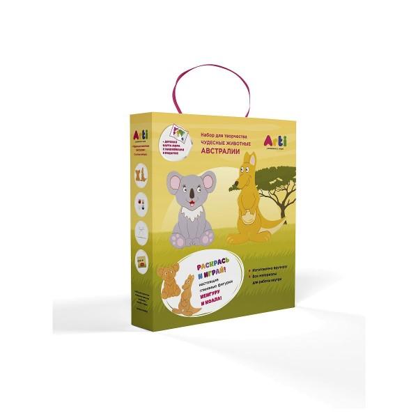 """Набор для творчества """"Чудесные животные Австралии"""" Кенгуру и коала, Г000761 Arti"""