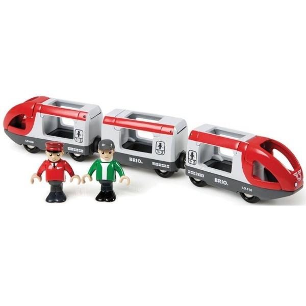 Пассажирский поезд-экспресс 5 элементов 33505 Brio