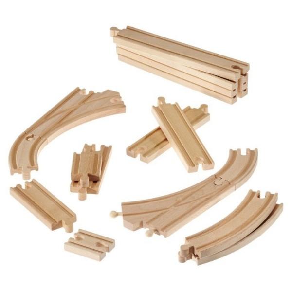 Железнодорожное полотно Brio Базовые элементы 16 штук 33402 Brio