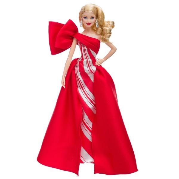 Праздничная кукла Barbie блондинка FXF01 Mattel