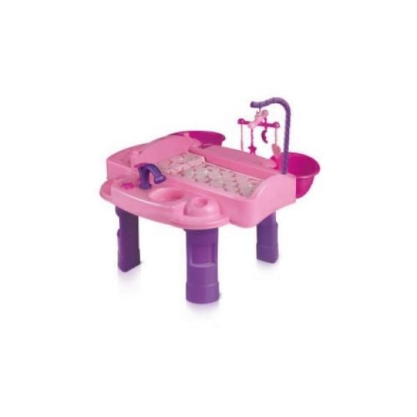 Игровой набор для девочек  Кукольный столик для пеленания Маленькая мама 15-5548_  Терра Пласт