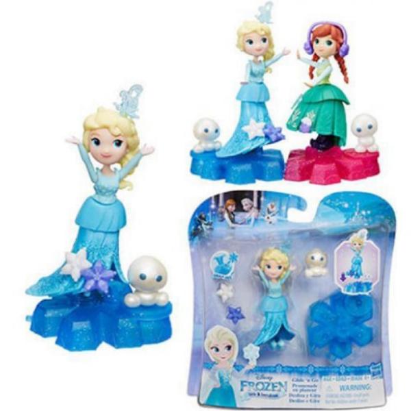 Маленькие куклы из серии Холодное Сердце Disney Princess на платформе-снежинке B9249EU4 Hasbro