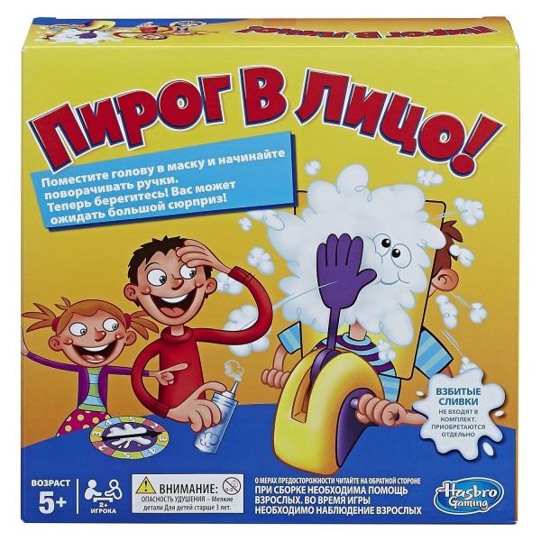 Игра настольная OTHER GAMES Пирог в лицо B7063121 Hasbro