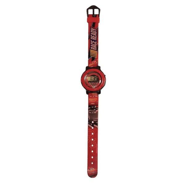 Часы наручные электронные Cars черно-бело-красные CARJ6-R1 Disney