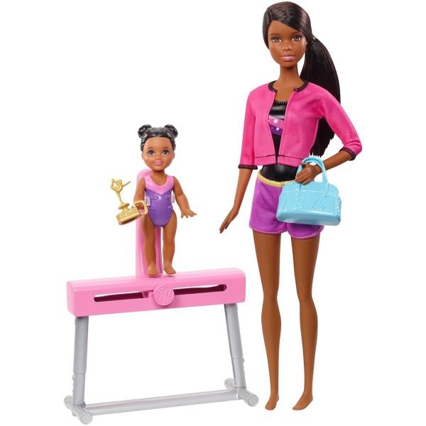 Игровой набор Барби гимнастка FXP37 Mattel