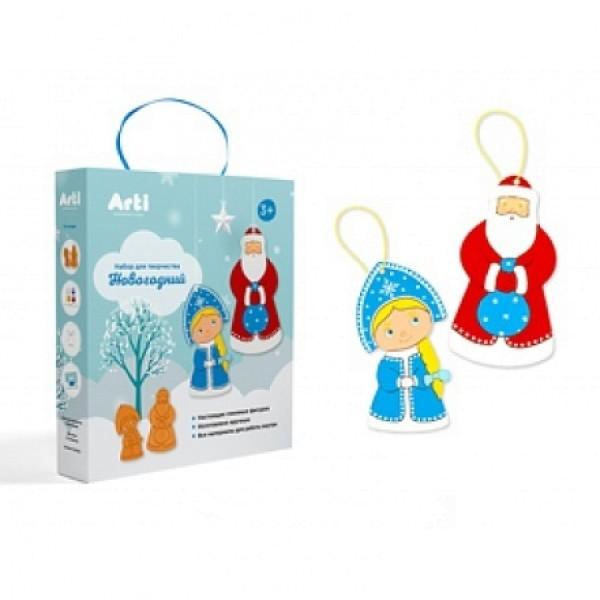 Набор для творчества Новогодний Дед Мороз и Снегурочка Arti Г000747