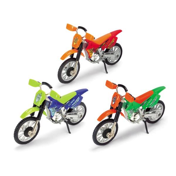 Кроссовый мотоцикл 12 см, 3 варианта 3341020 Dickie