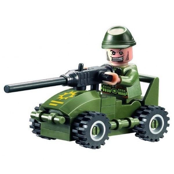 Конструктор Военный. 28 деталей