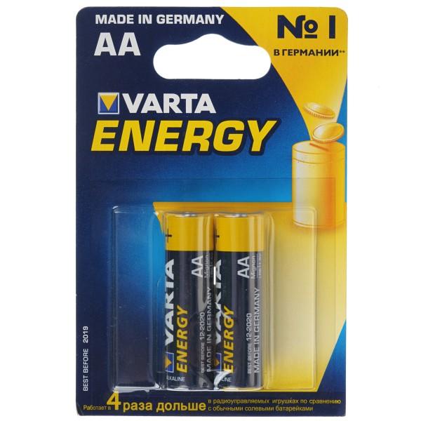 Батарейка щелочная VARTA LR6 (AA) Energy 1.5В, 4008496771189 VARTA