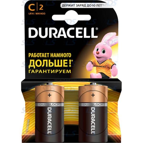 Батарейка щелочная Bаsic LR14 С 1.5В  5000394052529 DURACELL