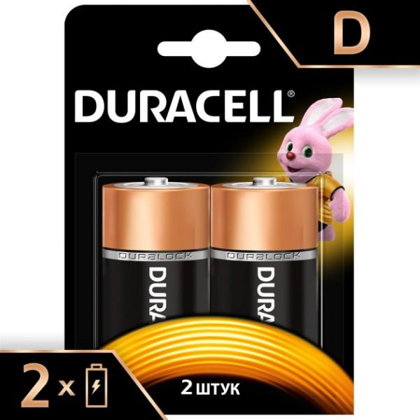 Батарейка щелочная Basic  LR20 D 1.5В 5000394052512 DURACELL