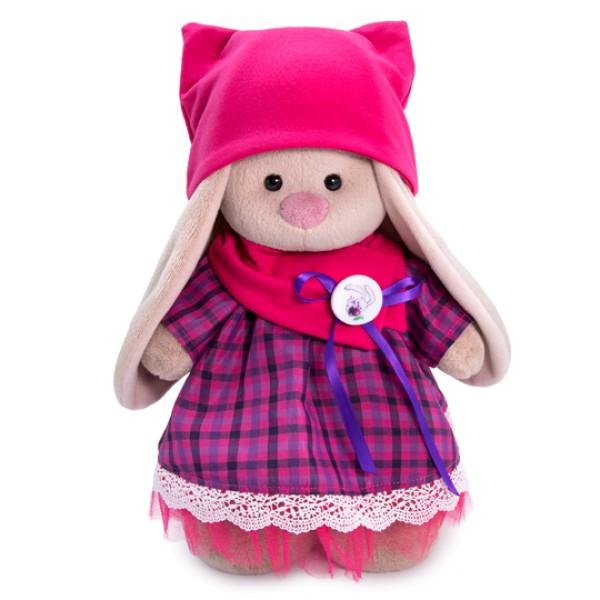 Зайка Ми в платье со снудом и шапкой 25 см StS-327 Budi Basa