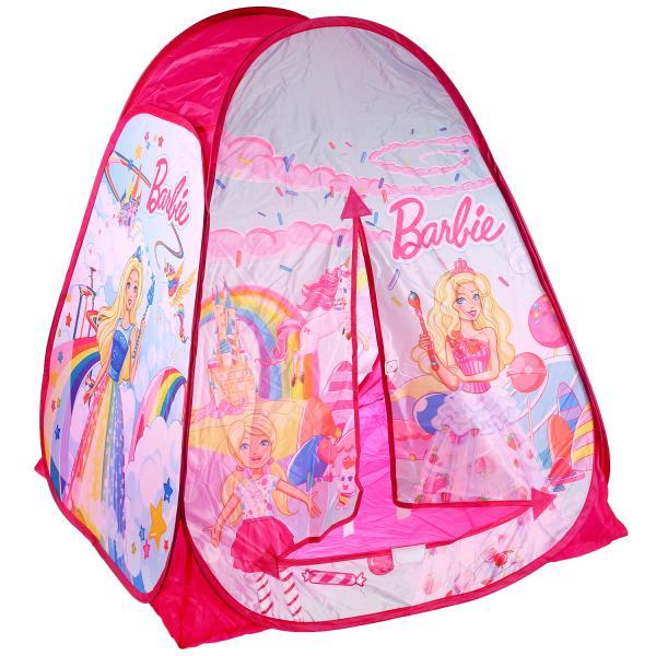 Палатка детская игровая Барби в сумке GFA-BRB01-R Играем вместе