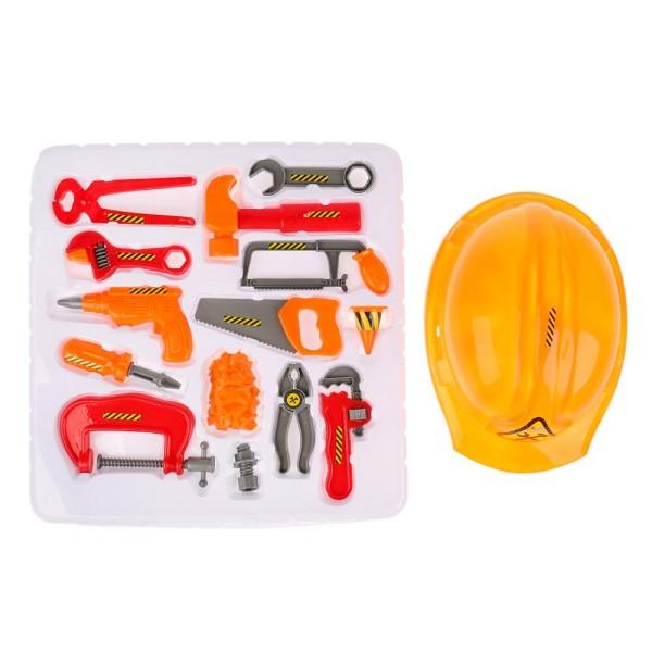 Набор инструментов, с каской, ZY418233 Играем вместе