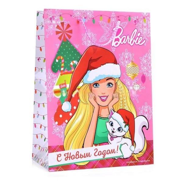 Пакет подарочный Barbie С Новым Годом! CLRBG-BRBNY-05 Играем Вместе