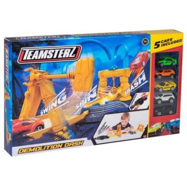 Игровой набор Teamsterz Трек DEMOLITION DASH с 5 машинками 1416646.00 HTI