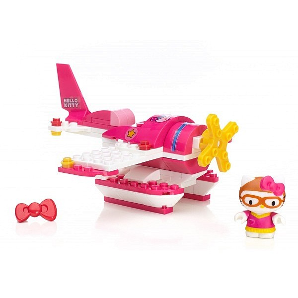 Конструктор Hello Kitty Досуг 10932(10933,10934,10955) Mega Bloks
