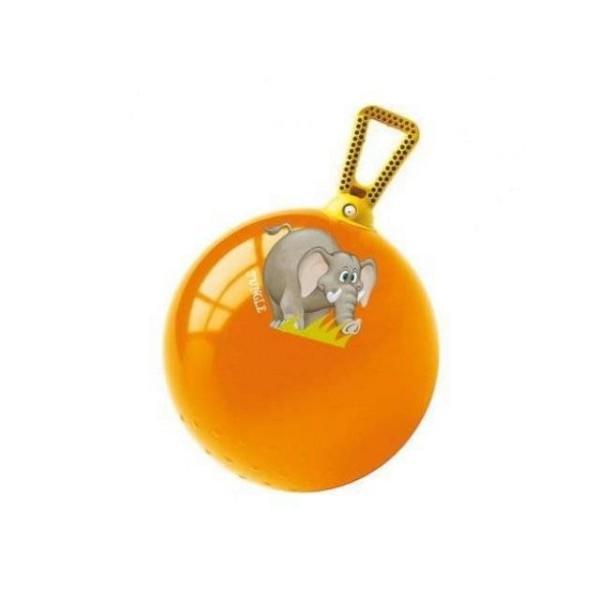Мяч попрыгунчик Джунгли 60 см 06/602 MONDO