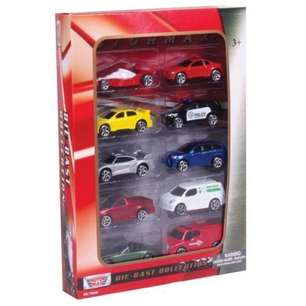 Набор моделей коллекционных машинок 75648 MOTORMAX
