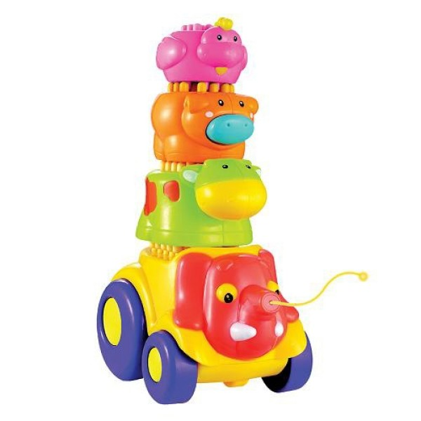 Каталка Веселые слоники 23091 Toy Target