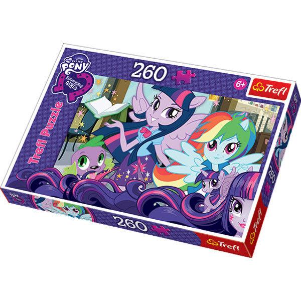 Пазл My Little Pony - Лучшие подруги навсегда, 260 элементов, 13191 Trefl