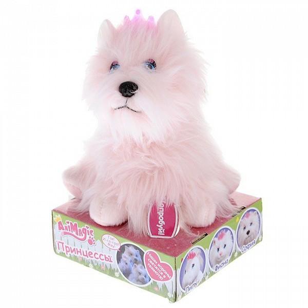 Мягкая интерактивная игрушка Принцесса в ассорт 30739  Vivid